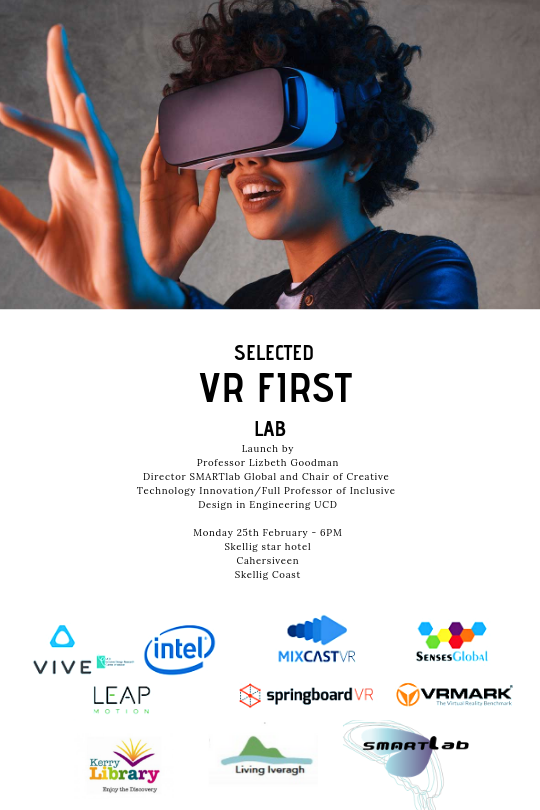 VR FIrst Lab launch Cahersiveen